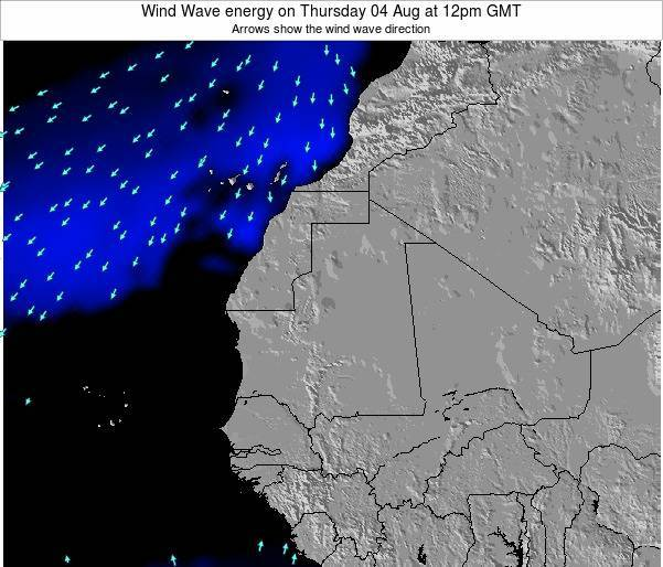 Sierra Leone Wind Wave energy on Tuesday 11 Mar at 12pm GMT