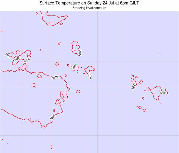 HowlandIsland Surface Temperature on Friday 20 Apr at 6pm GILT map
