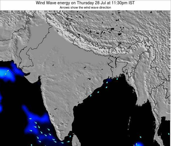 India Wind Wave energy on Monday 24 Jun at 5:30am IST