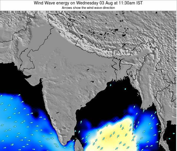 India Wind Wave energy on Monday 27 May at 5:30pm IST
