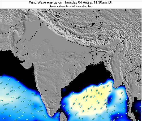 India Wind Wave energy on Sunday 26 May at 11:30pm IST