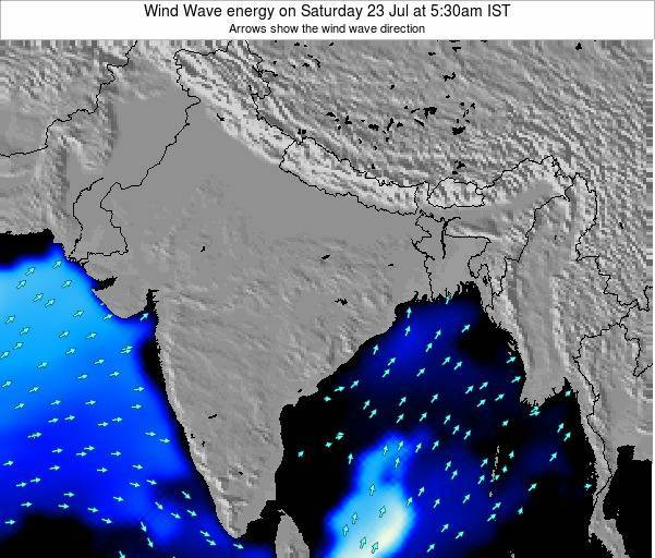 India Wind Wave energy on Thursday 23 May at 5:30pm IST