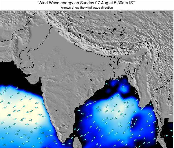 India Wind Wave energy on Sunday 19 May at 11:30pm IST