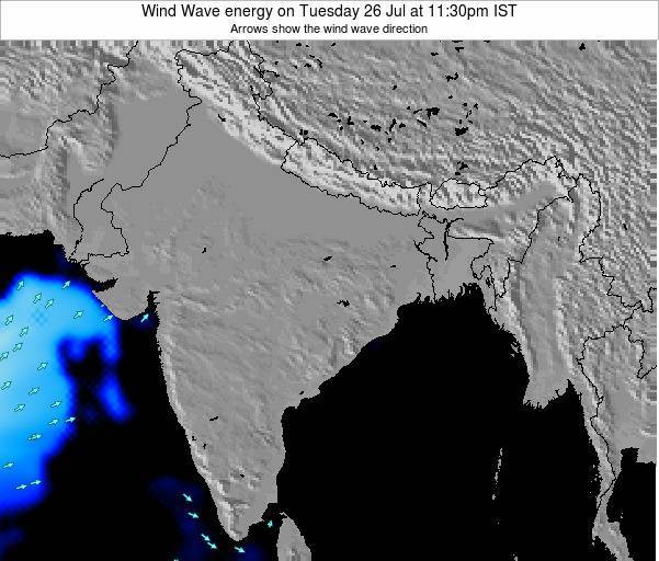 India Wind Wave energy on Friday 24 May at 5:30am IST