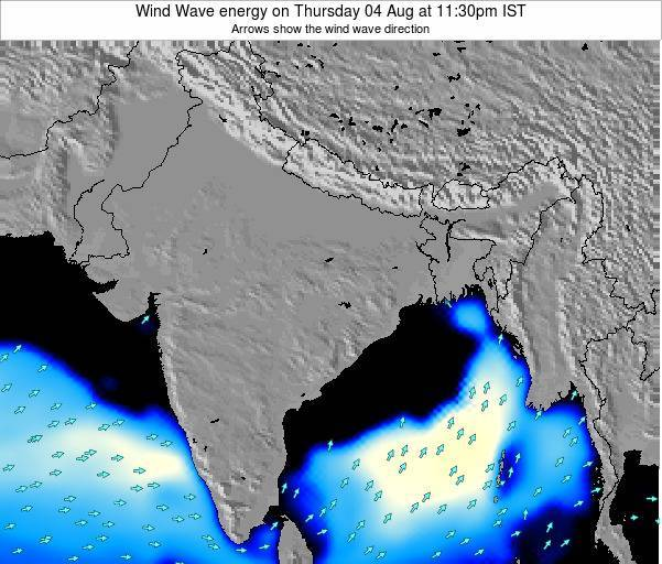 India Wind Wave energy on Sunday 26 May at 5:30pm IST
