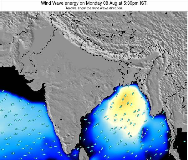 India Wind Wave energy on Wednesday 22 May at 11:30am IST