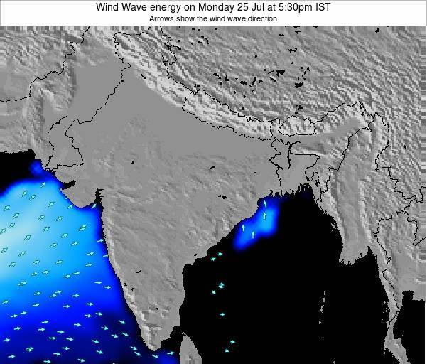 India Wind Wave energy on Saturday 25 May at 5:30pm IST