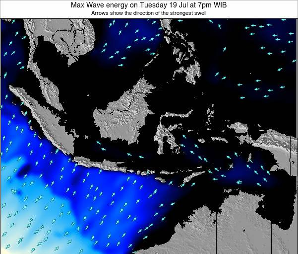 Indonesia Max Wave energy on Sunday 26 May at 1am WIT