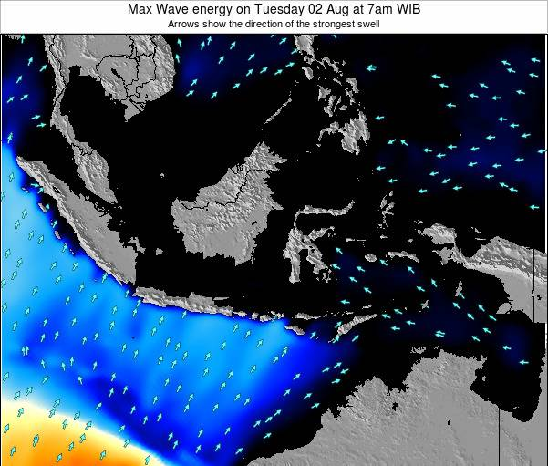 EastTimor Max Wave energy on Tuesday 02 May at 1am WIB