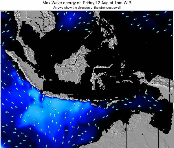 Indonesia Max Wave energy on Sunday 03 Jul at 1am WIB