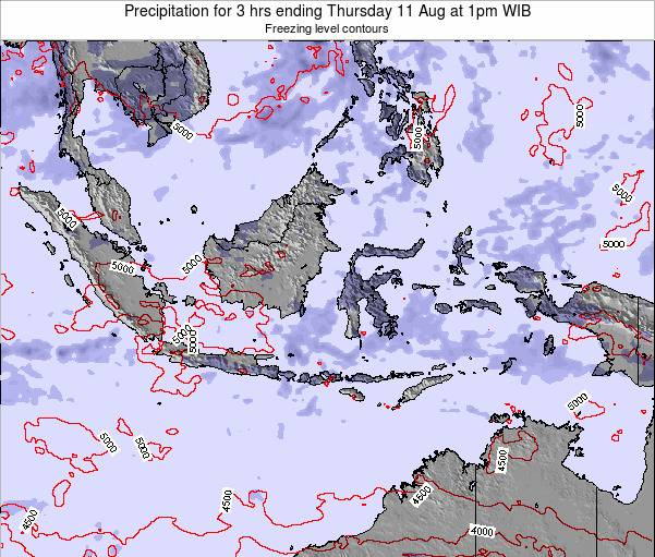 EastTimor Precipitation for 3 hrs ending Thursday 30 May at 7pm WIT
