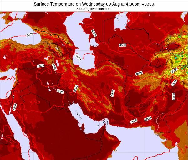 رکوردشکنی بیشینه دما در مازندران طی ۴دهه اخیر در آبان ۹۷