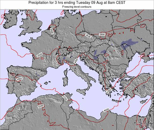 Holy See Precipitation for 3 hrs ending Monday 27 May at 2am CEST map