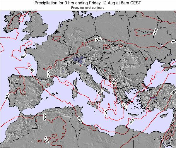 Holy See Precipitation for 3 hrs ending Friday 24 May at 8pm CEST map