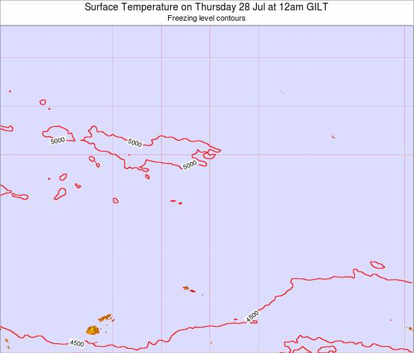 Kiribati Surface Temperature on Wednesday 03 May at 6pm GILT