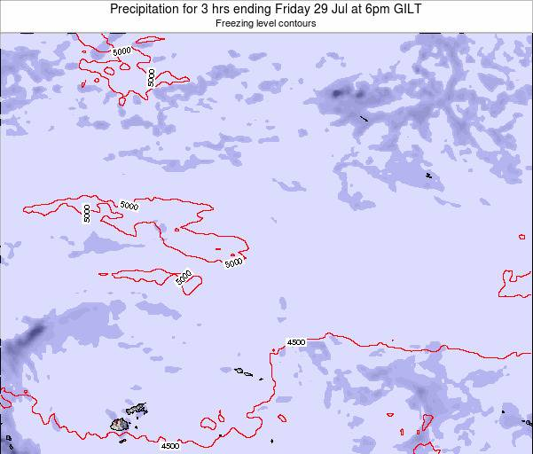 Kiribati Precipitation for 3 hrs ending Tuesday 28 May at 12am GILT