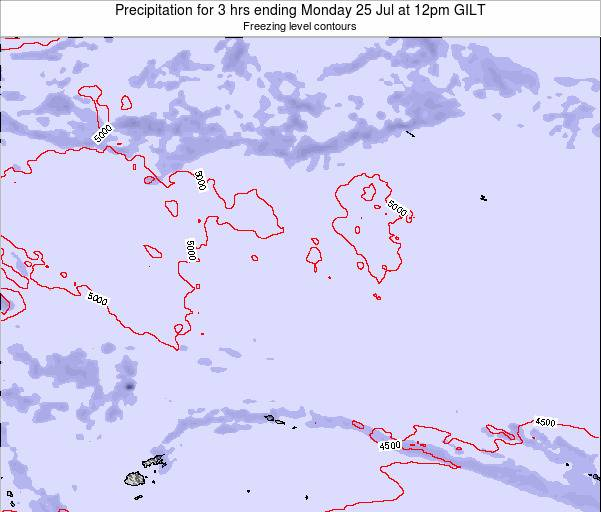 Kiribati Precipitation for 3 hrs ending Sunday 26 May at 12am GILT