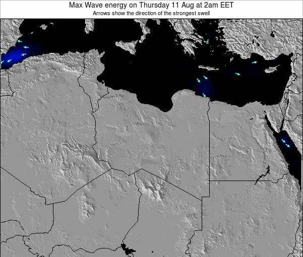 Libya Max Wave energy on Saturday 04 Jun at 2pm EET
