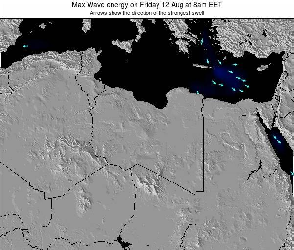 Libya Max Wave energy on Sunday 26 May at 2am EET