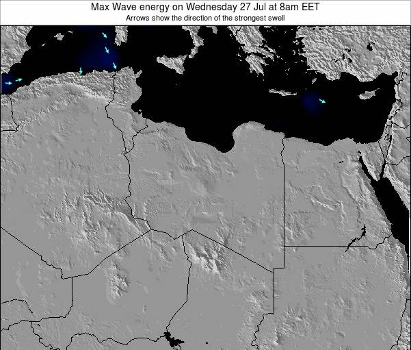 Libya Max Wave energy on Friday 04 Dec at 2am EET
