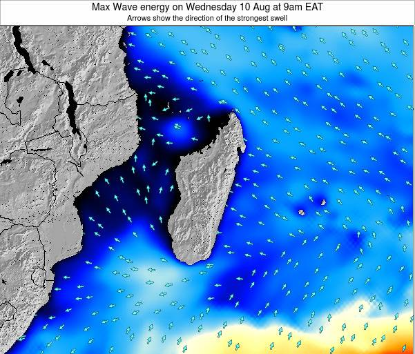 Madagascar Max Wave energy on Sunday 26 May at 9am EAT
