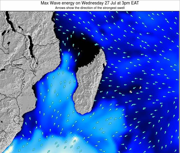 Madagascar Max Wave energy on Friday 24 May at 3pm EAT
