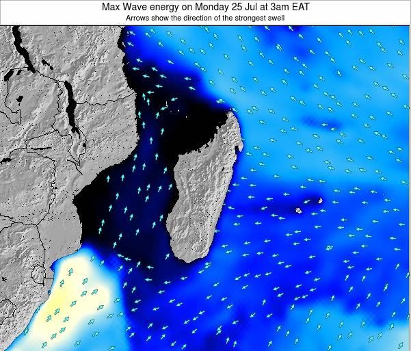 Reunion Max Wave energy on Saturday 25 May at 3pm EAT