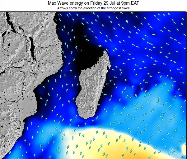 Reunion Max Wave energy on Sunday 26 May at 9pm EAT