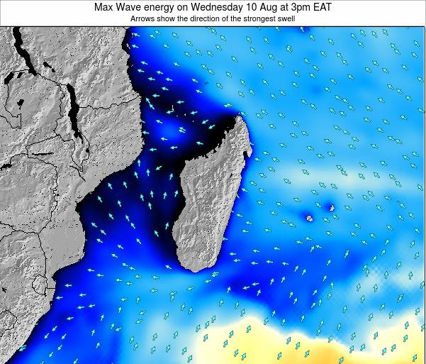 Madagascar Max Wave energy on Tuesday 25 Jun at 3am EAT