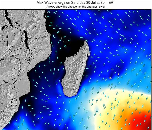 Reunion Max Wave energy on Wednesday 06 Aug at 3pm EAT