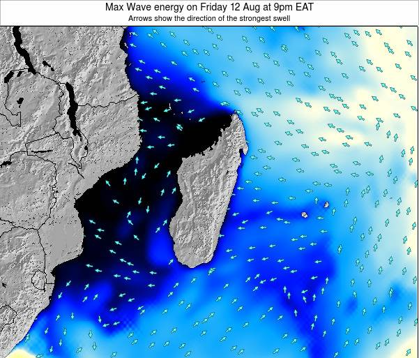 Reunion Max Wave energy on Friday 24 May at 3am EAT