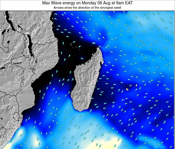 Reunion Max Wave energy on Tuesday 29 Jul at 9am EAT