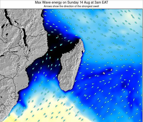 Madagascar Max Wave energy on Saturday 01 Jun at 9pm EAT