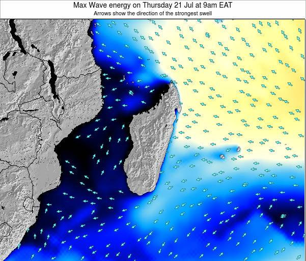 Reunion Max Wave energy on Friday 21 Jun at 3pm EAT