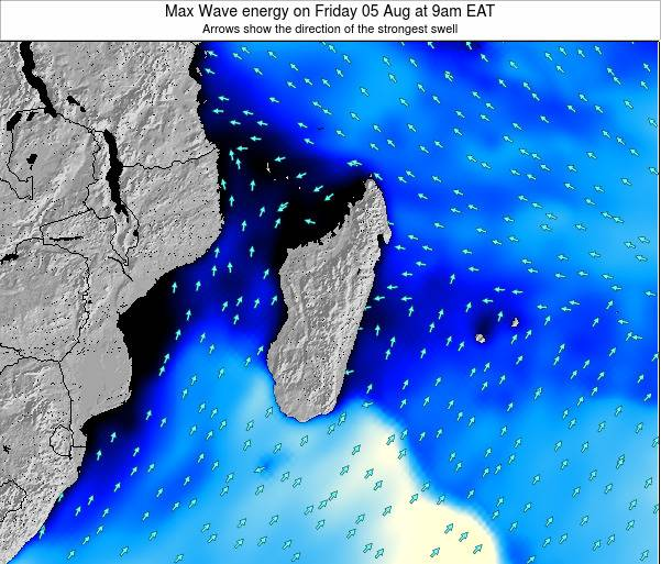 Reunion Max Wave energy on Monday 27 May at 3pm EAT