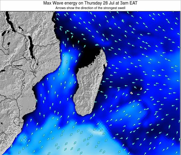 Reunion Max Wave energy on Sunday 26 May at 3pm EAT