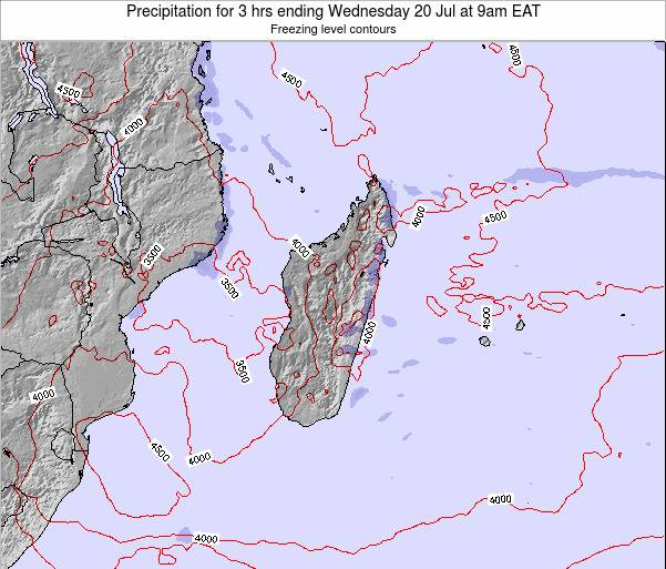 Comoros Precipitation for 3 hrs ending Saturday 29 Sep at 9pm EAT map