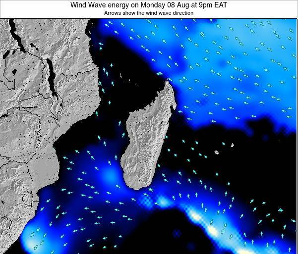 Mauritius Wind Wave energy on Tuesday 28 May at 9am EAT