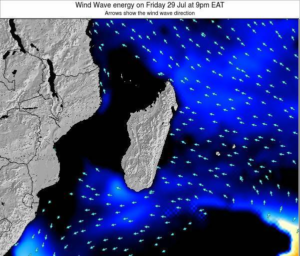 Madagascar Wind Wave energy on Thursday 30 May at 9pm EAT