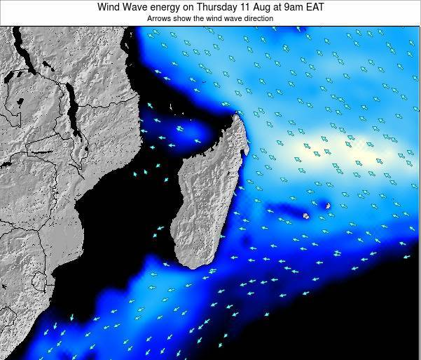 Madagascar Wind Wave energy on Thursday 30 May at 3pm EAT
