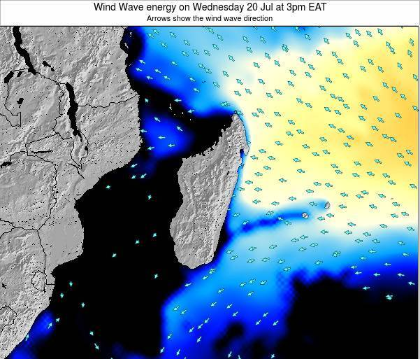 Madagascar Wind Wave energy on Saturday 25 May at 3pm EAT