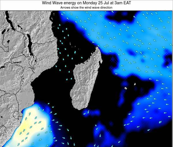Mauritius Wind Wave energy on Friday 24 May at 9pm EAT