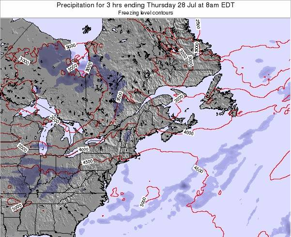 New-Hampshire Precipitation for 3 hrs ending Monday 27 May at 8am EDT