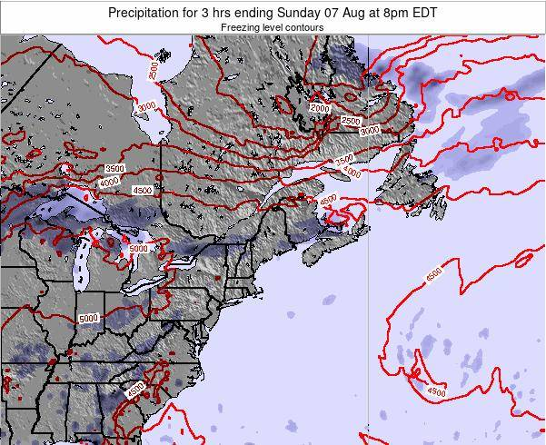 New-Hampshire Precipitation for 3 hrs ending Sunday 26 May at 8am EDT map