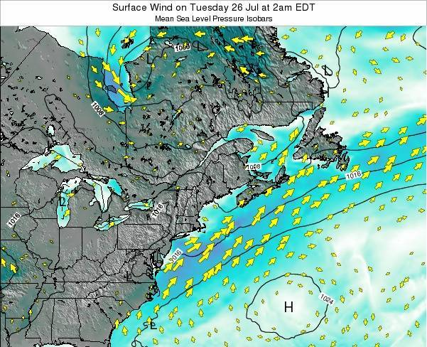 New-Hampshire Surface Wind on Monday 02 May at 8am EDT