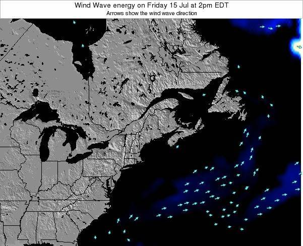 New-Hampshire Wind Wave energy on Monday 20 May at 8am EDT