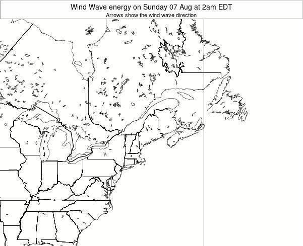 New-Hampshire Wind Wave energy on Thursday 31 Jul at 2am EDT