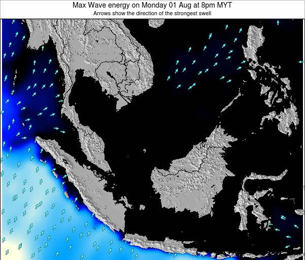 Malaysia Max Wave energy on Friday 24 May at 8am MYT