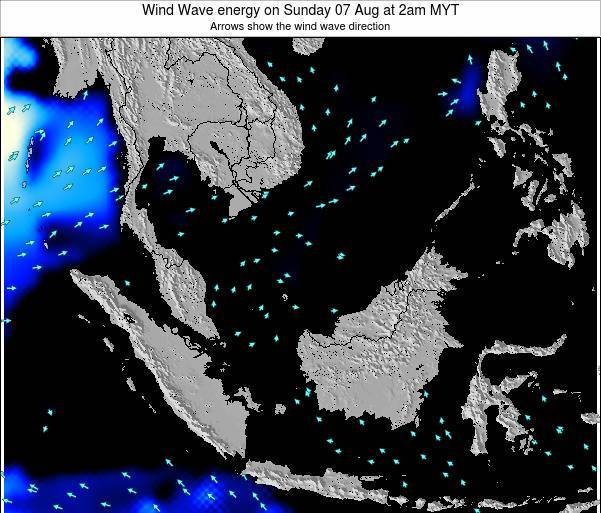 Malaysia Wind Wave energy on Wednesday 30 Jul at 2am MYT