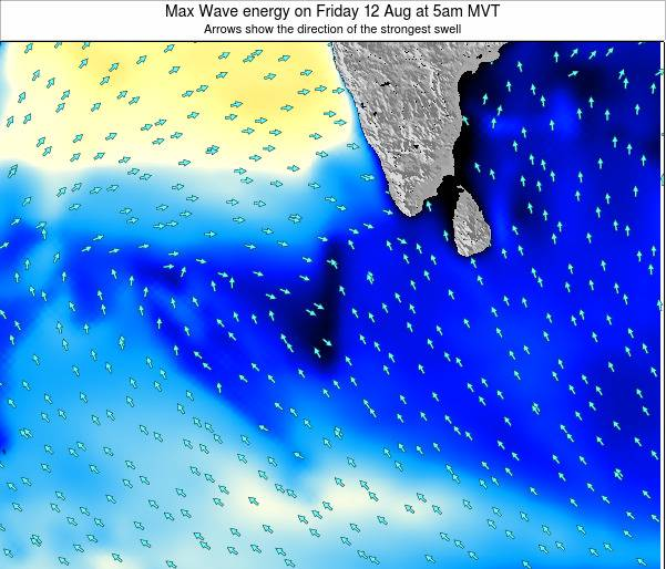 Maldives Max Wave energy on Tuesday 29 Apr at 11pm MVT